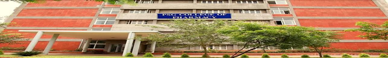 PSG College of Pharmacy - [PSGCP], Coimbatore