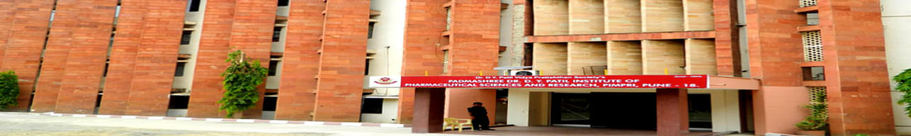 Dr. D.Y. Patil Institute of Pharmaceutical Sciences and Research - [DYPIPSR] Pimpri, Pune