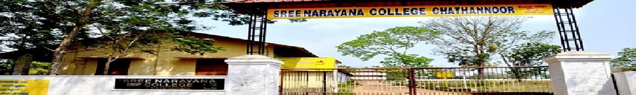 Sree Narayana College Chathannur, Kollam