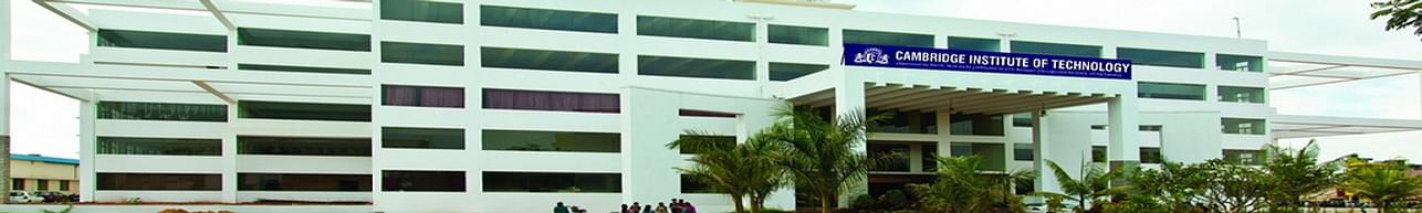 Cambridge Institute of Technology - [CiTech], Bangalore