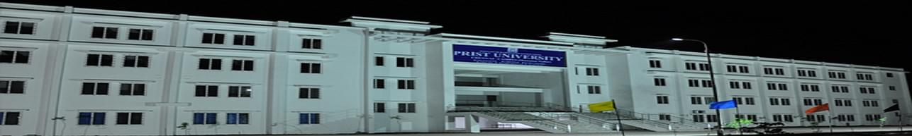 Prist University, Directorate of Distance Education, Thanjavur