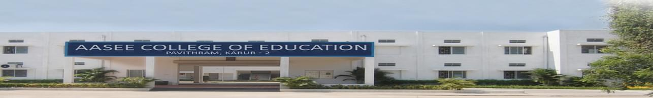 Aasee college of Education, Karur