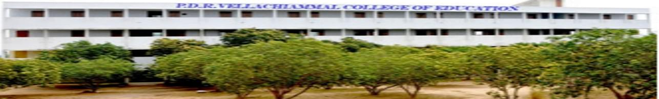 P.D.R Vellachiammal College of Education, Dharmapuri - Course & Fees Details