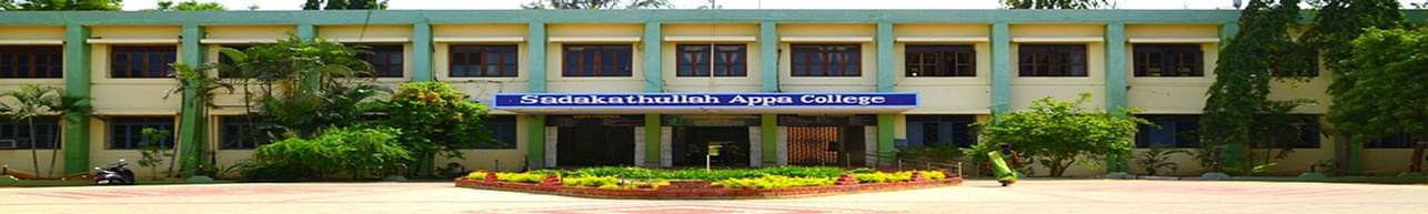 Sadakathullah Appa College - [SAC], Palayamkottai