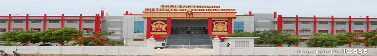 Shri Sapthagiri Institute of Technology, Vellore