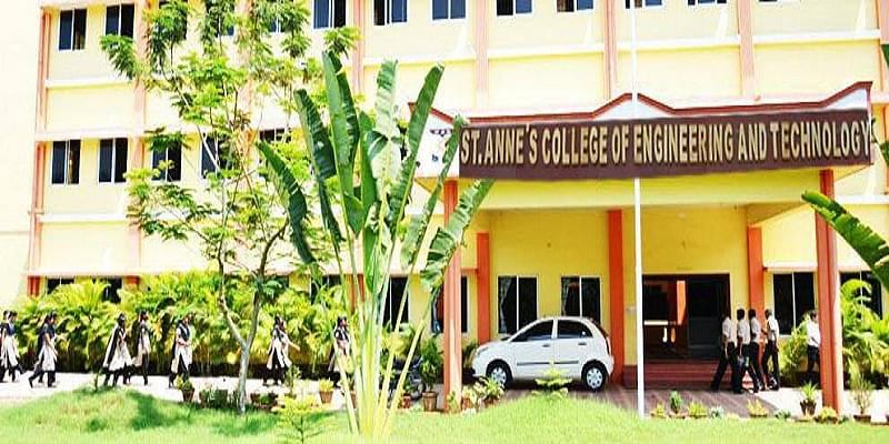 St Anne's College of Engineering and Technology, Cuddalore ...