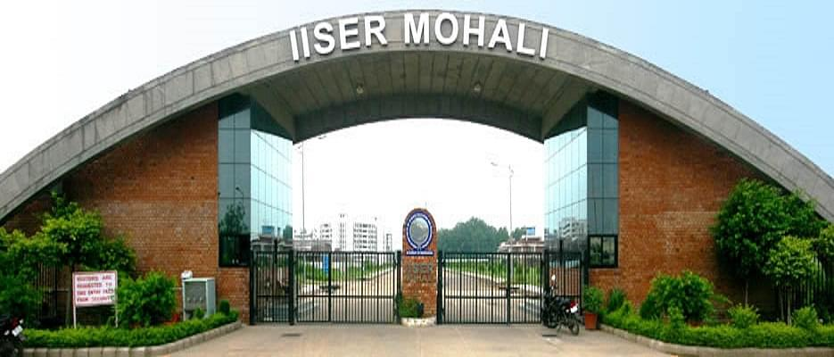Indian Institute of Science Education and Research (IISER), Mohali ...