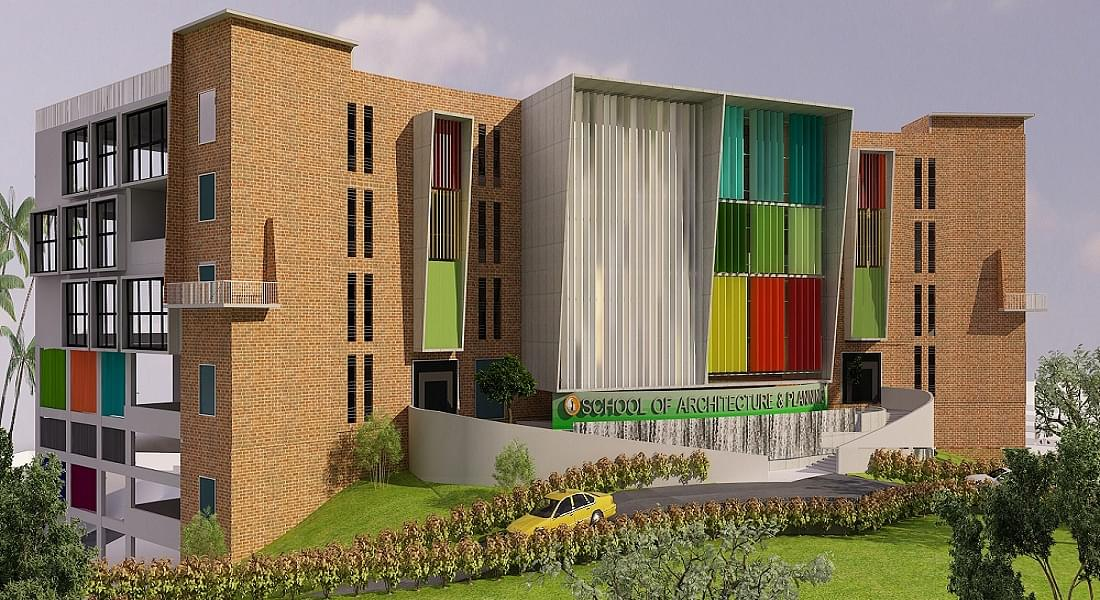 Sjb school of architecture and planning sjbsap for Education design architects bangalore