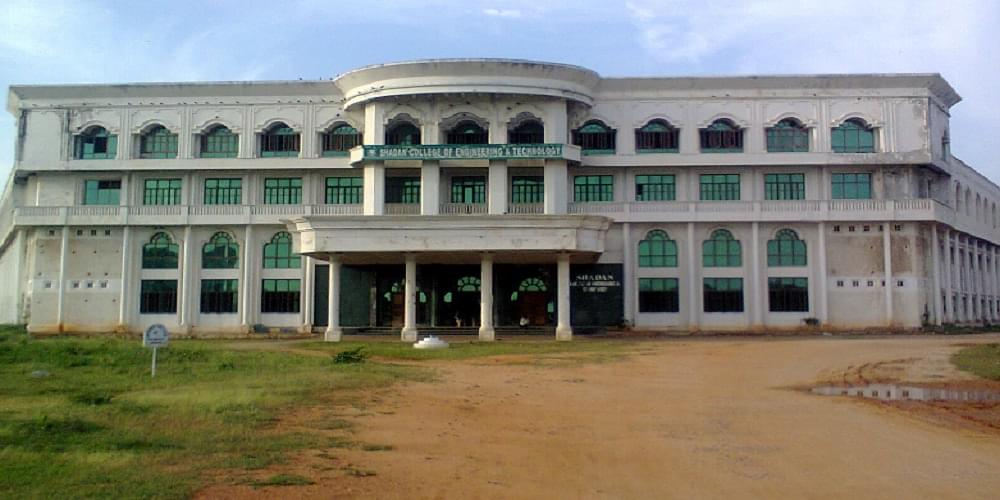 shadan college  engineering technology scet hyderabad admissions contact website