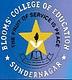 Blooms College of Education, Mandi logo