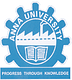 School of Architecture and Planning, Anna University, Chennai logo