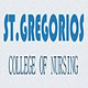 St Gregorios college of nursing Parumala, Pathanamthitta logo