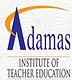 Adamas Institute of Teacher Education, North 24 Parganas logo
