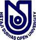 Netaji Subhas Open University - [NSOU], Kolkata logo