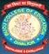 Bijou College of Education, Gwalior logo