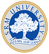 SRM University, School of Law, Kanchipuram logo