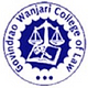 Govindrao Wanjari College of Law - [GWCL]