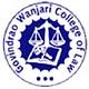 Govindrao Wanjari College of Law - [GWCL], Nagpur logo