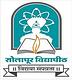 Solapur University, Solapur logo