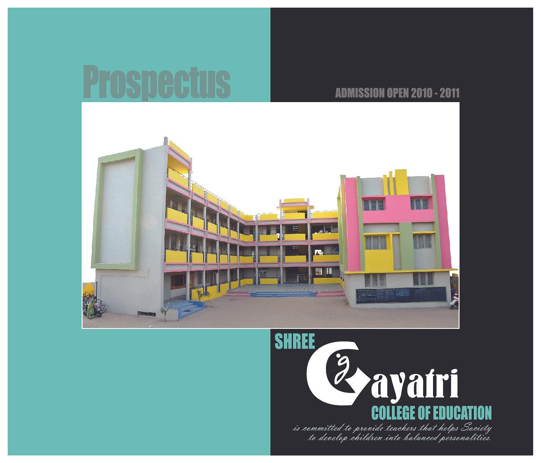 College Of Education: Shree Gayatri College Of Education, Ahmedabad