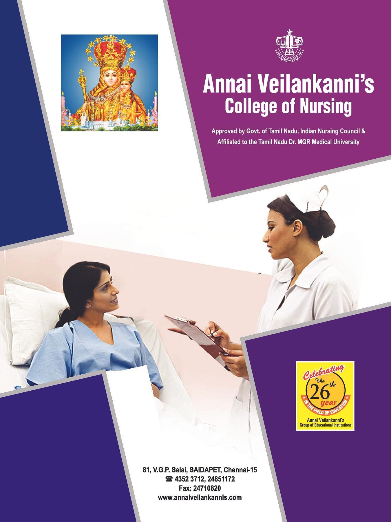 Annai Veilankanni Nursing College, Chennai - Admissions ...