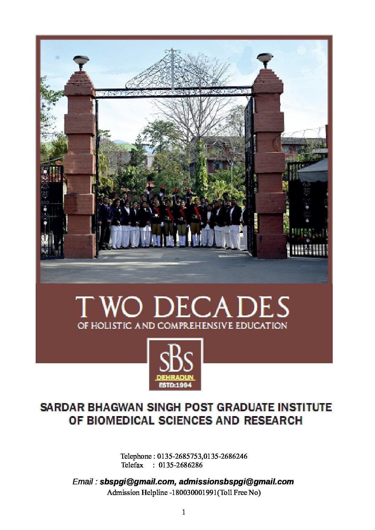 414 Postgraduate Courses for Biomedical Sciences ...