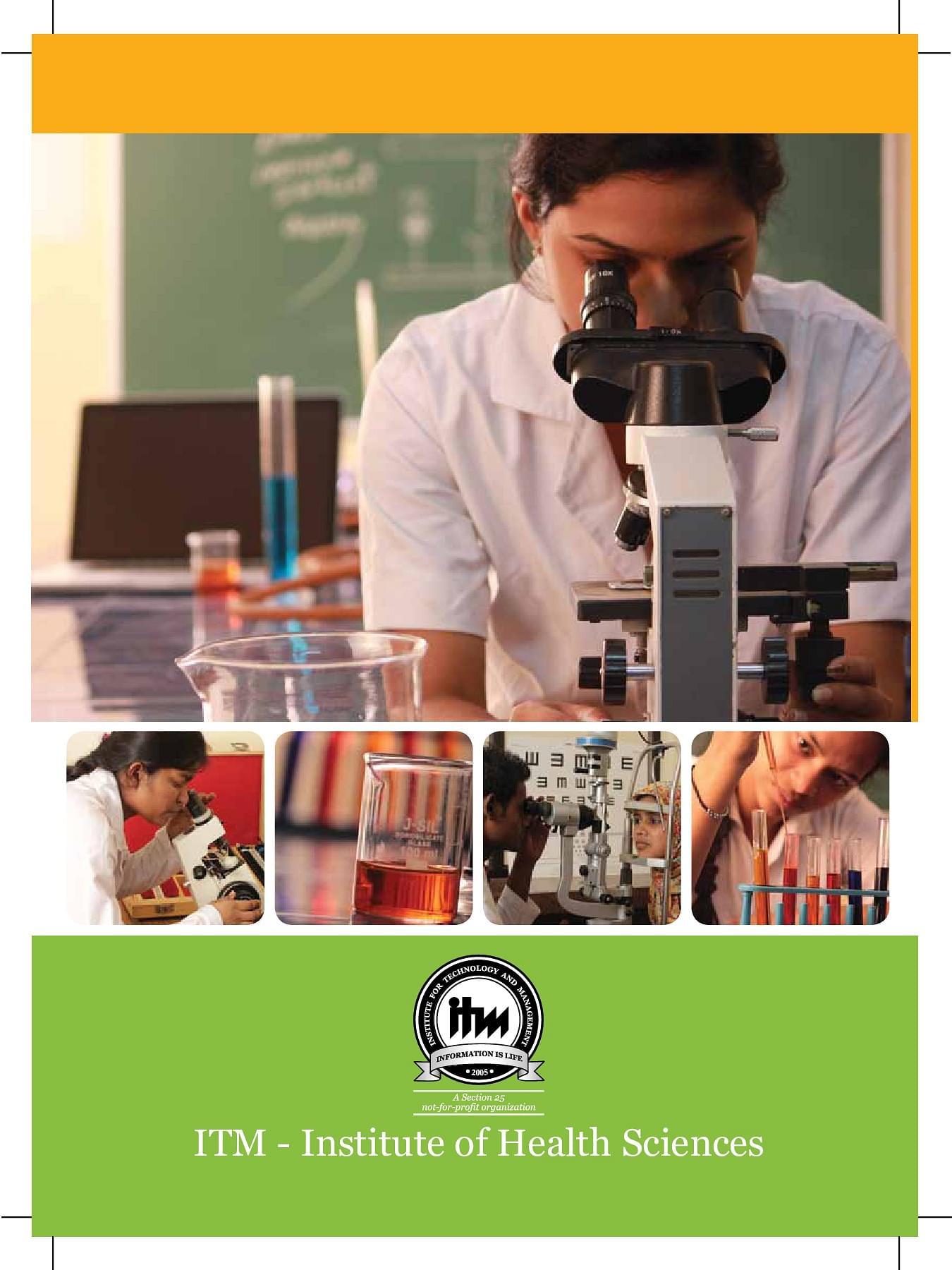 ITM Institute of Health Sciences, Raigarh - Admissions ...