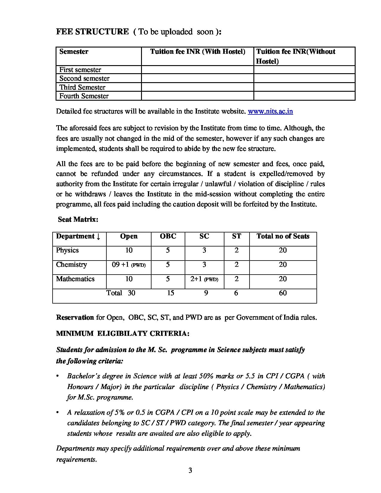 NIT Silchar - Admissions, Courses, Fees, Placements, Cutoff 2019