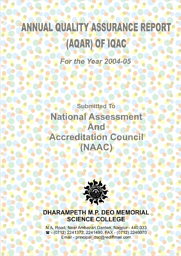 Annual Report of NAAC