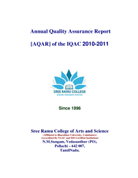 Annual Quality Assurance Report