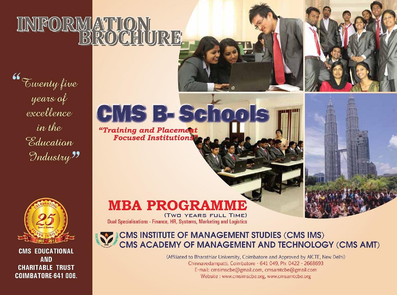 CMS Institute of Managment Studies - [CMSIMS], Coimbatore