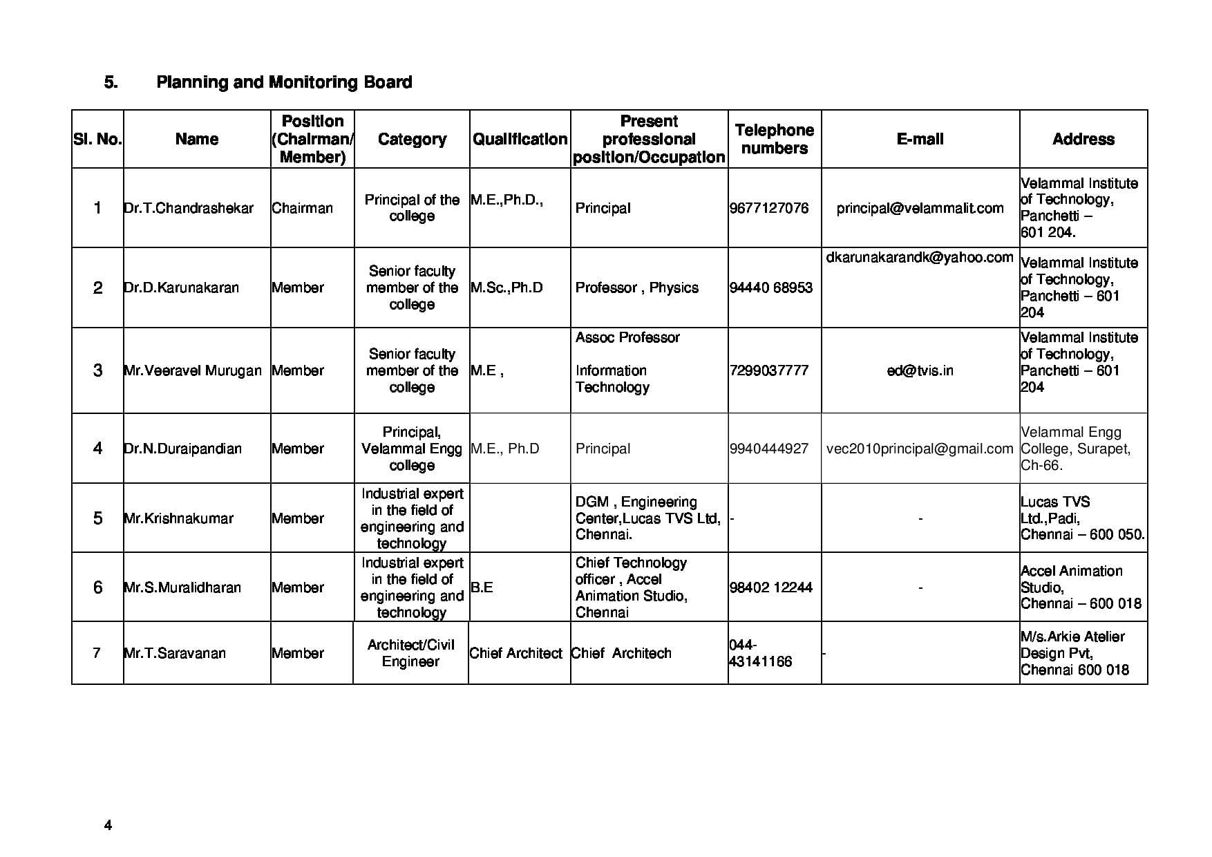 Velammal Institute of Technology - [VI-Tech], Thiruvallur - Admissions, Contact, Website ...