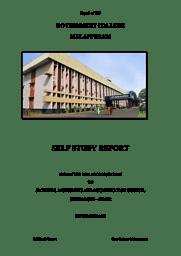 SSR Report