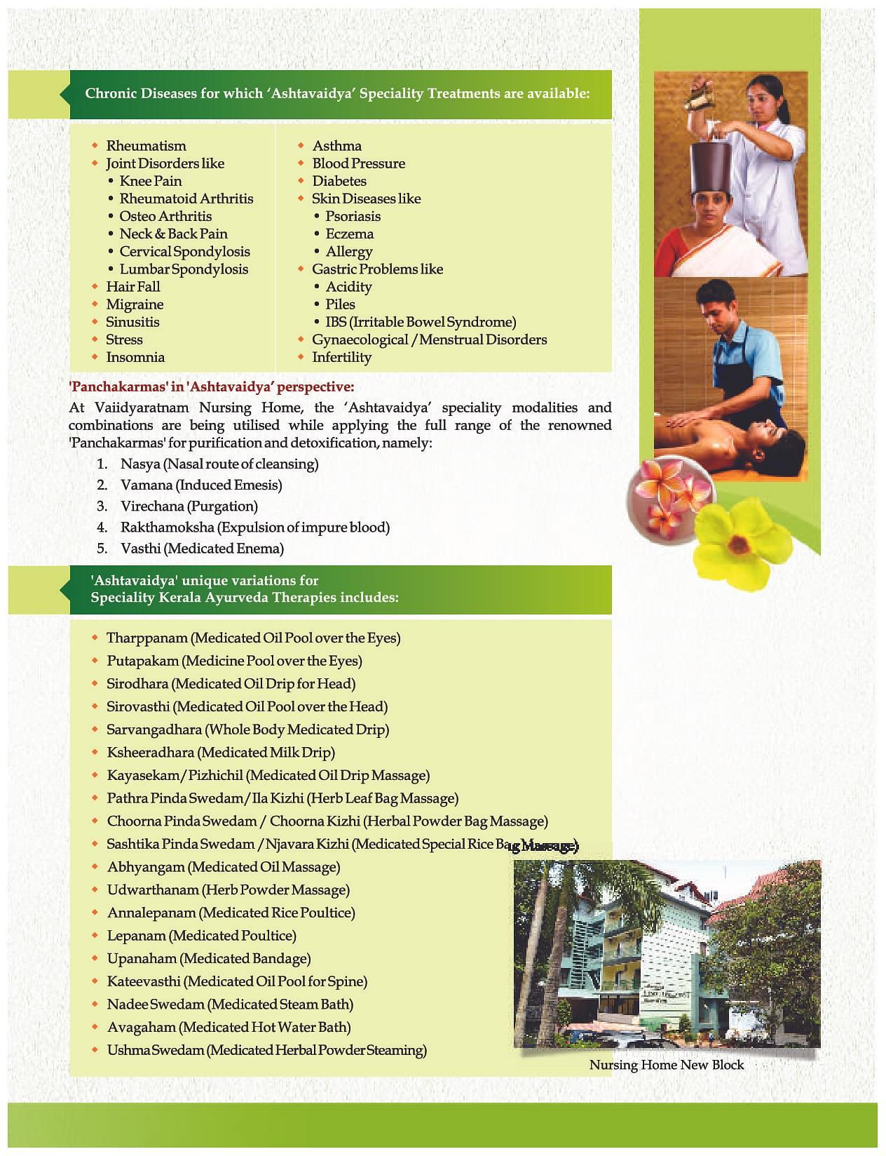 Vaidyaratnam Ayurveda College, Thrissur - Admissions