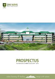 Prospectus of MBBS