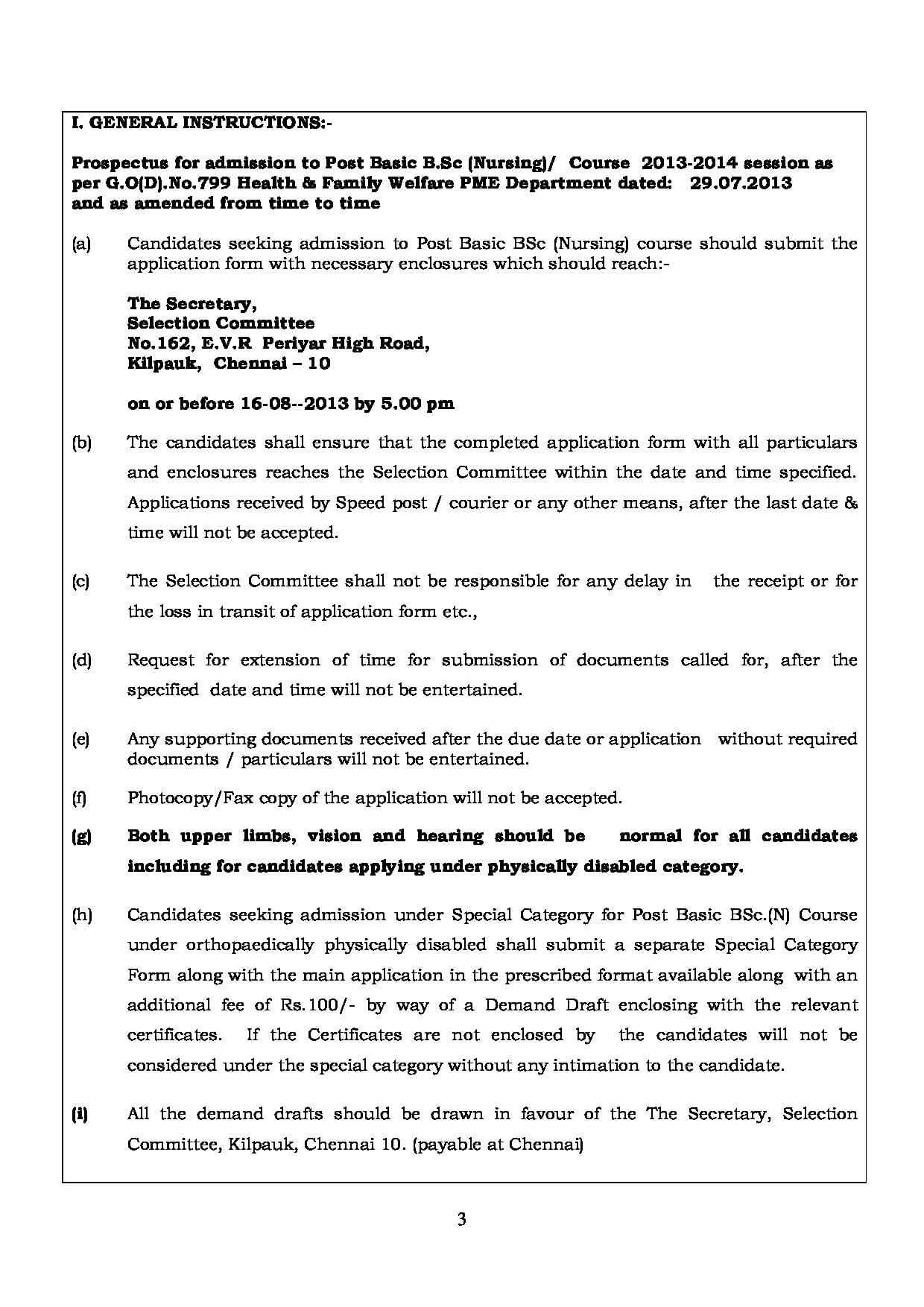 Tamilnadu mbbs application form 2019
