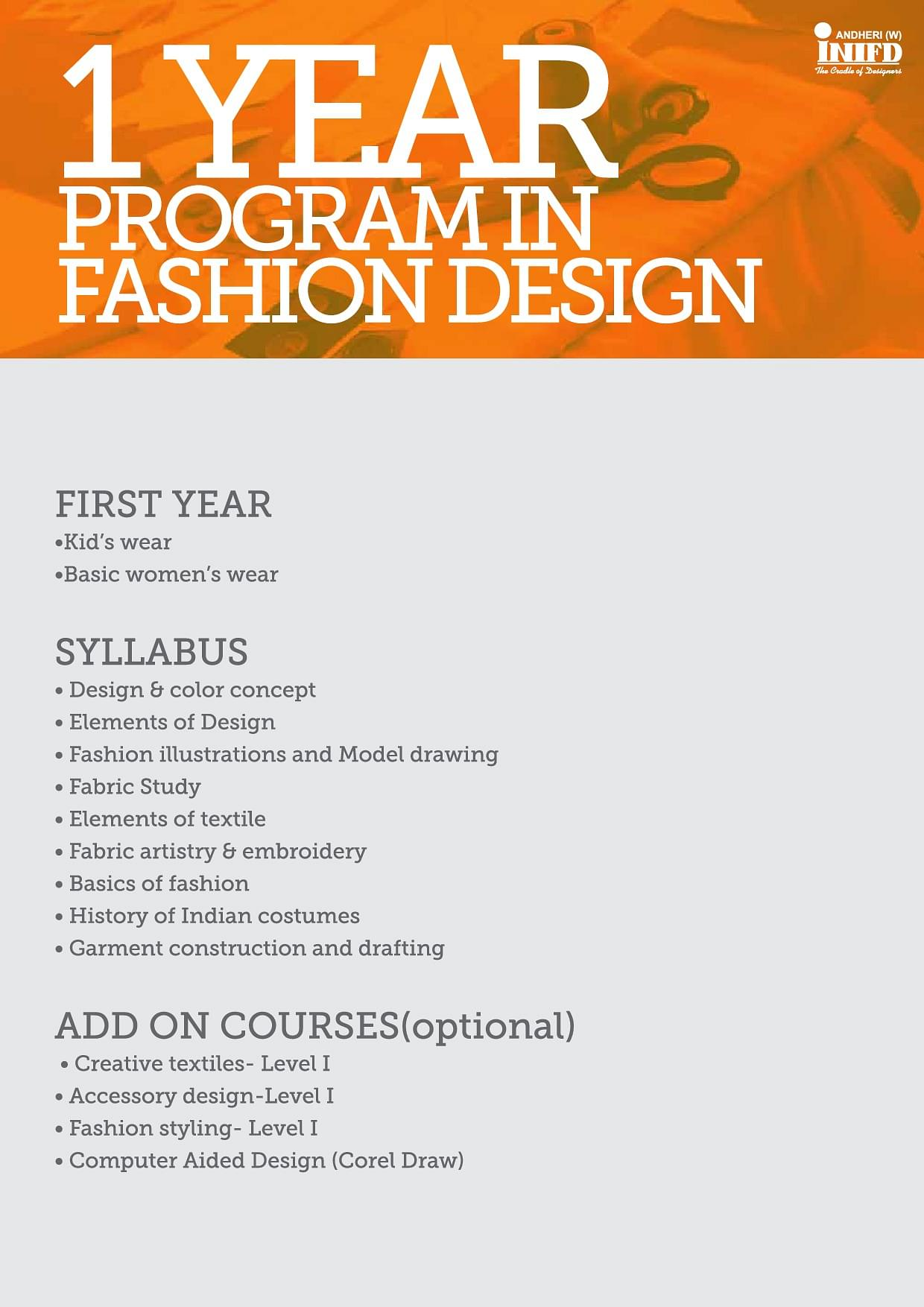 International Institute Of Fashion Design Inifd Mumbai Admissions Contact Website