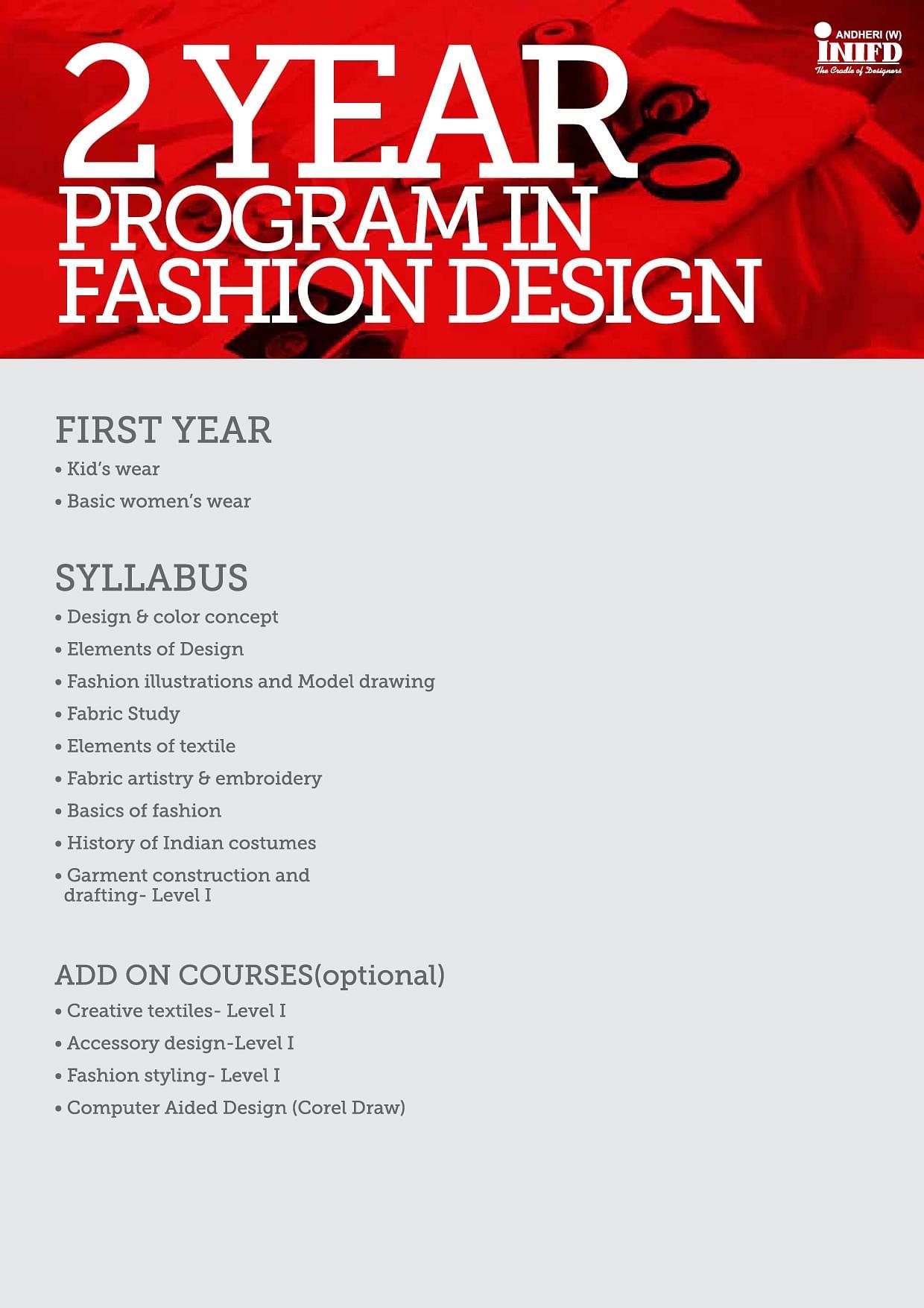 Inifd International Institute Of Fashion Design