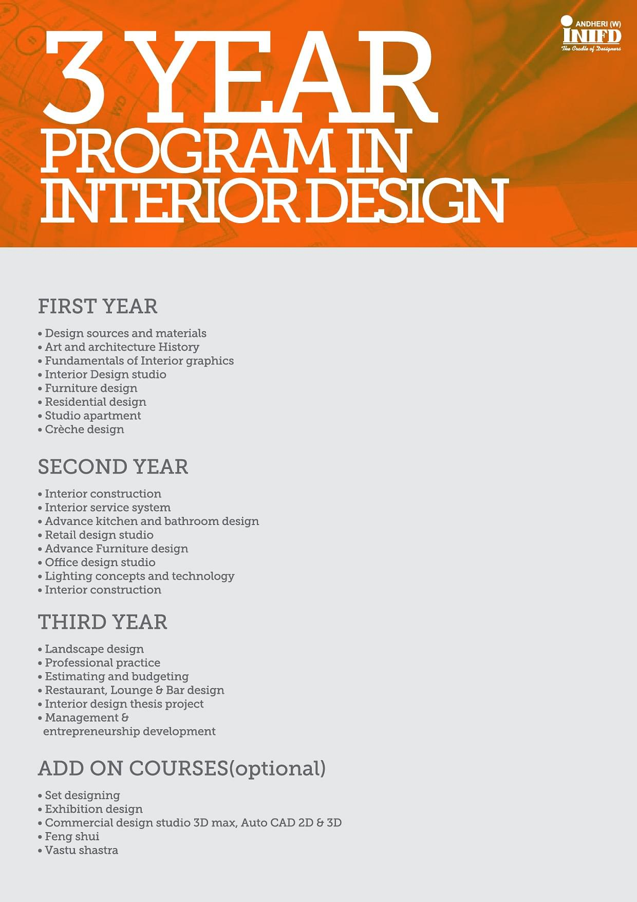 International institute of fashion design inifd
