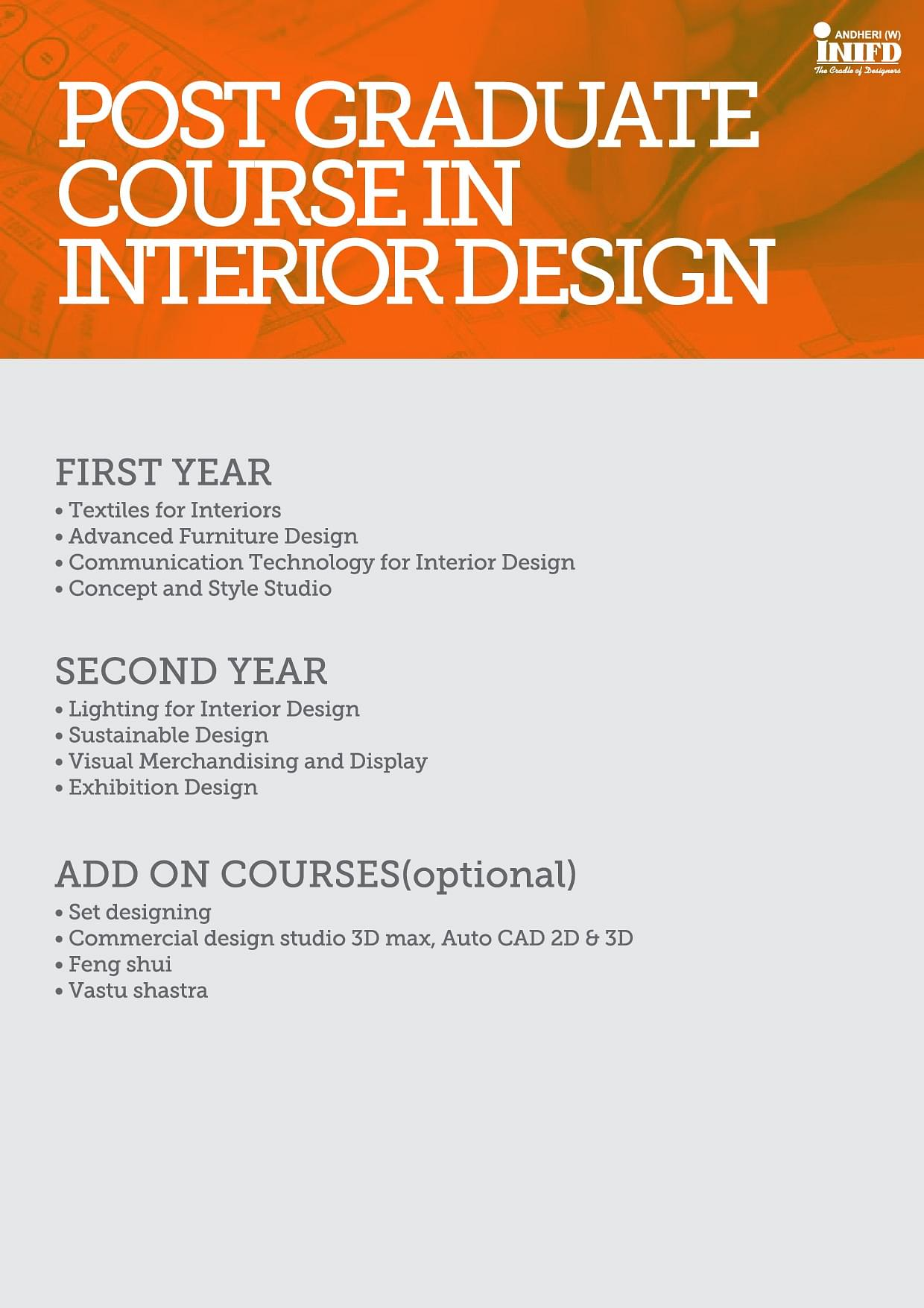 2016Interior Design Course Brochure
