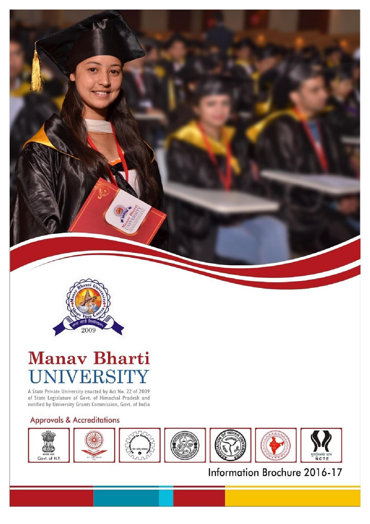 Manav Bharti University - [MBU], Solan Prospectus image 1