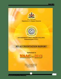 College Information brochure-NAAC Report 2013