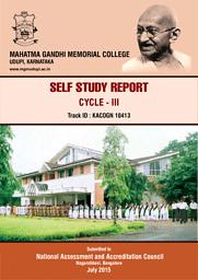 Self Study Report 2015