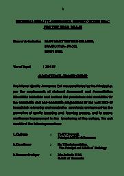IQAC report