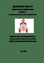 College Information brochure- SSReport 2015