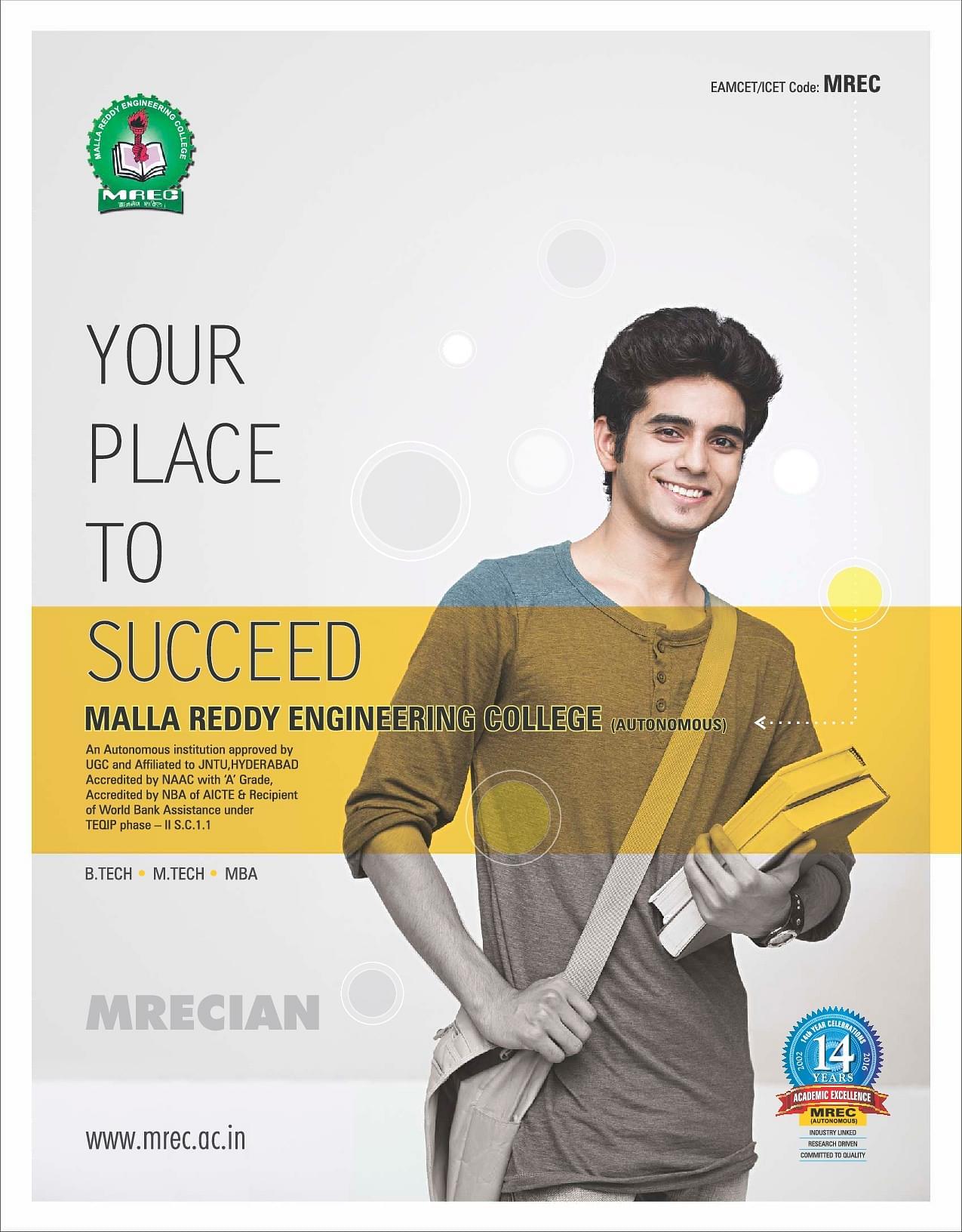 Malla Reddy Engineering College MREC Hyderabad Admissions – College Brochure