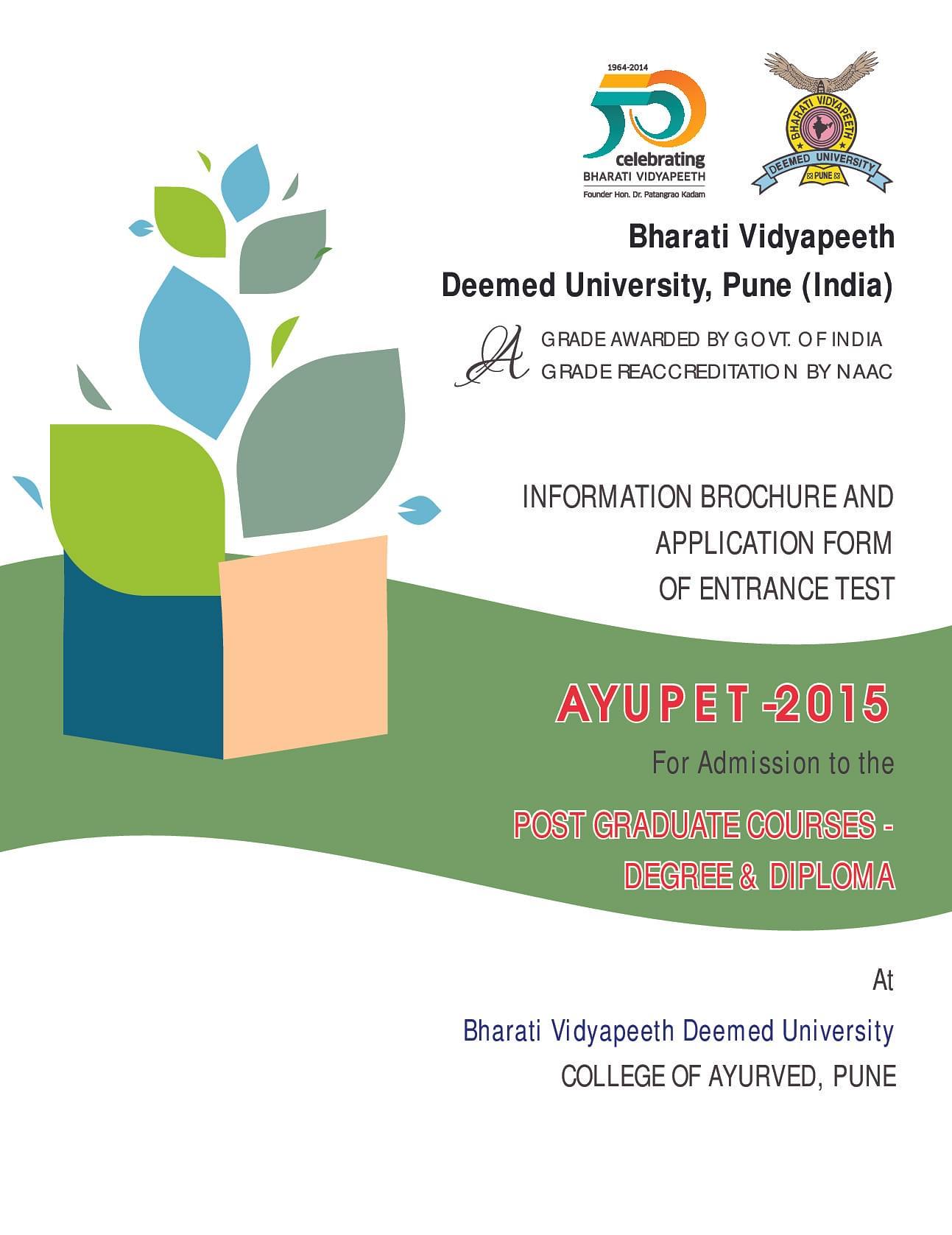 Bharati Vidyapeeth College of Ayurved - [BVCA], Pune