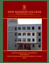 College Information brochure- SSR Report 2015