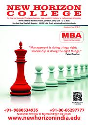 College Information brochure- MBA 2016