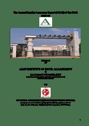 AQAR Report
